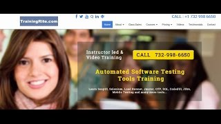 Selenium with JAVA Software Automated Testing Class Training Beginner Level Video Tutorial