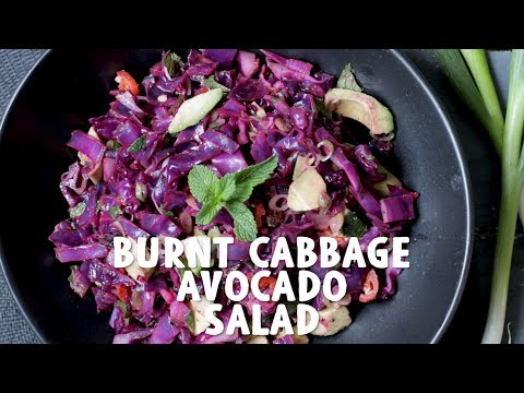 Xxx Mp4 Burnt Cabbage Avocado Salad Wicked Healthy 3gp Sex