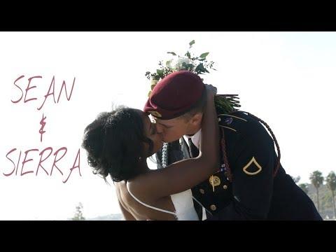 Xxx Mp4 Our Wedding Sean And Sierra Romantic Interracial Wedding Beach Wedding Military Wedding 3gp Sex