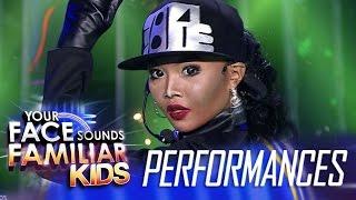 Your Face Sounds Familiar Kids: AC Bonifacio as Janet Jackson - Rhythm Nation
