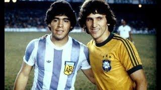 (1979) Maradona Vs Zico ● Brasil x Argentina ● The First Date