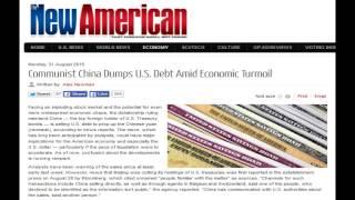 Communist China Dumps U.S. Debt Amid Economic Turmoil
