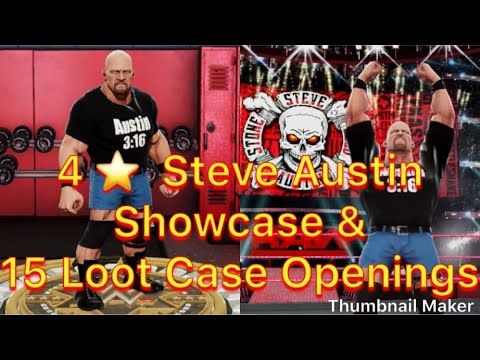 Xxx Mp4 WWE Mayhem 4 Star Steve Austin Showcase 15 Loot Case Openings 3gp Sex