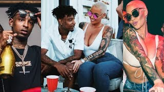 21 Savage P*SSED HIM & AMBER GOT RECORDED LEAVING CLUB TOGETHER! He Say CHILL WE NOT EVEN ON THAT!