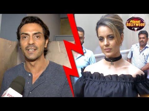 Arjun Rampal Supports Hrithik Roshan In Kangana's Controversy   Bollywood News