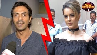 Arjun Rampal Supports Hrithik Roshan In Kangana's Controversy | Bollywood News