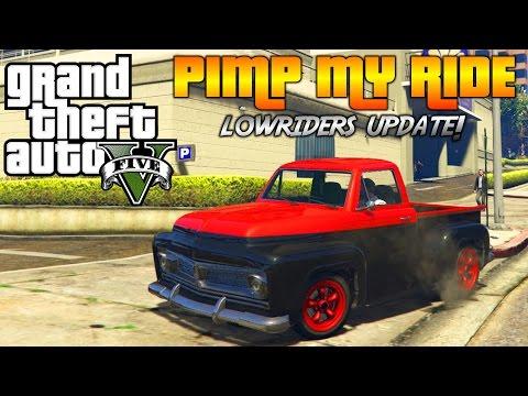 GTA 5 - Pimp My Ride #157 | NEW LOWRIDERS Slamvan Custom | Car Customization