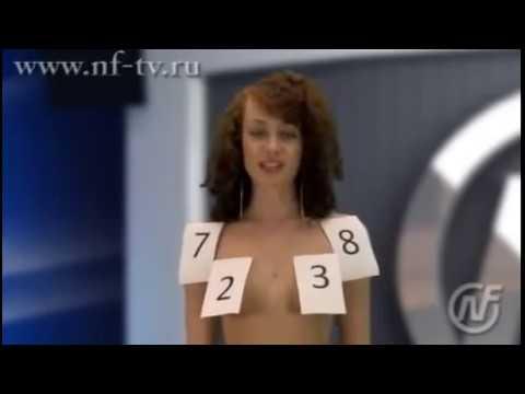 Top girls NFTV Russian Naked News TV