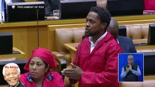 EFF Chaos. Parliament Is Not A Shebeen