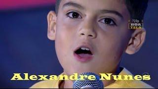 Alexandre Nunes - Tristeza do Jeca - Final HD - 12/04/2014 Jovens Talentos Kids- Raul Gil