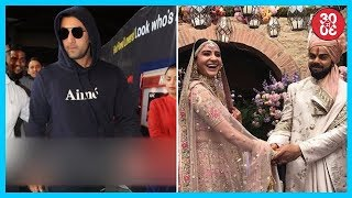 Ranbir Returns To Mumbai | Virushka To Send The Proceeds From Their Pictures To Charity