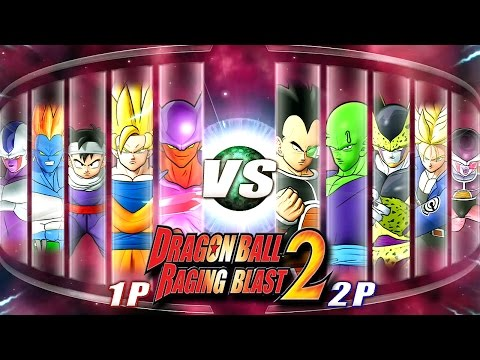 Dragon Ball Z Raging Blast 2 - Random Characters 8 (What If Battle)