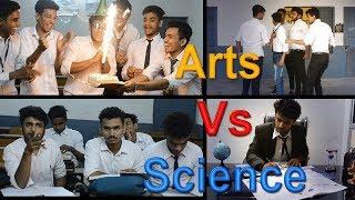 Arts Vs Science Students Part 2 | Molad$ |