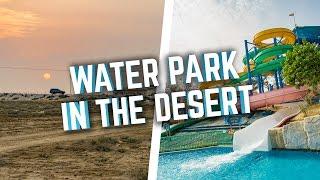 WATER PARK IN THE DESERT! Dreamland Aqua Park, UAE