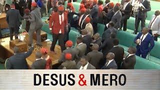 Fight in Ugandan Parliament