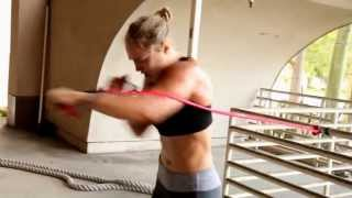 Ronda Rousey Sexy Workout -