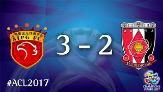 Shanghai SIPG vs Urawa Red Diamonds (AFC Champions League 2017 : Group Stage - MD 3)