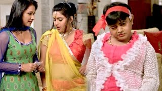 Comdey Scene - मउगा भतार  - Jina Teri Gali Me - Bhojpuri Movie Comedy Scene