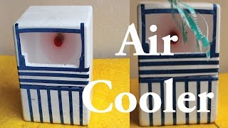 How To Make Mini Air Cooler For Summer Easy Way