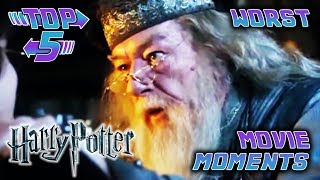 Top 5 Worst Harry Potter Movie Moments