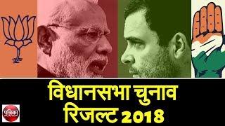 Assembly Election Result: राजस्थान, मप्र , छग, तेलंगाना, मिजोरम चुनाव रिजल्ट - Rajasthan Patrika