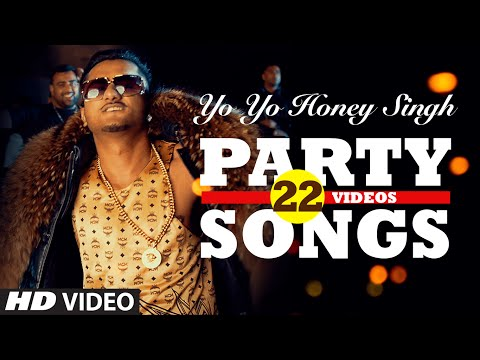 Yo Yo Honey Singh's BEST PARTY SONGS (22 Videos)| HINDI SONGS 2016 | BOLLYWOOD PARTY SONGS |T-SERIES