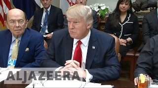 Trump refuses to rule out military action against Iran