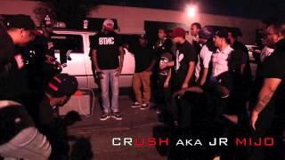 CRUSH aka JR MIJO vs KONKRETE aka JR TIGHT EYEZ pt 1