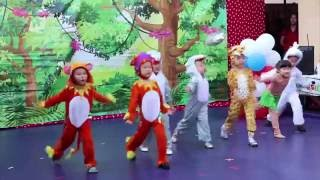 My Musical English/Theater - 1-2-3 Preschool - Jungle Book Recital