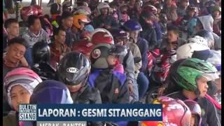 Arus Lalu Lintas di Pelabuhan Merak Terpantau Mulai Padat - BIS 21/06
