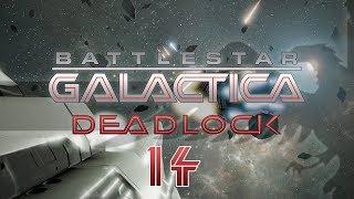 BATTLESTAR GALACTICA DEADLOCK #14 VIPER MK2 KO Preview - BSG Let