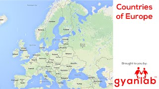 Countries of Europe | Geography | GyanLab
