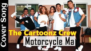The Cartoonz Crew and Aslesha Thakuri - Motorcycle Ma Nepali Movie Prem Geet 2, Cover Video