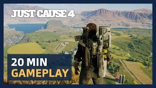 Just Cause 4: 20 Minutes Live Gameplay Presentation [ESRB]