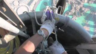 View From Working On Top Of The Burj Khalifa