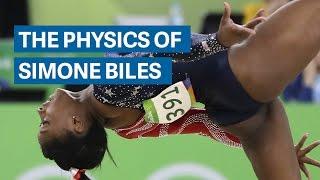 The gravity-defying physics of Simone Biles