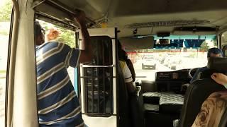 JAMAICA:  the legendary bus ride in Kingston