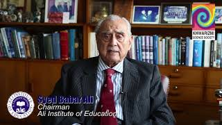 Let's spark the interest of science in our young generation! - Syed Babar Ali