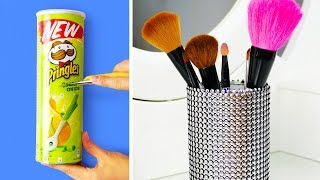 29 HANDY DIY MAKEUP STORAGE IDEAS