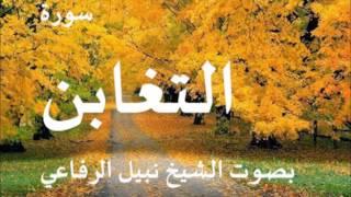 سورة التغابن بصوت الشيخ نبيل الرفاعي