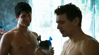 James Franco and Keegan Allen Pump Iron in 'King Cobra' (NSFW Language)