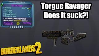 Borderlands 2: Ravager- Does it suck w/ Axton?