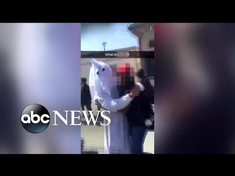 Xxx Mp4 California Student Dresses As KKK Grand Wizard For School Project 3gp Sex