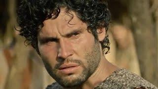 Asher dá uma surra em Nebuzaradã e o entrega para Evil na novela 'O Rico e Lázaro'
