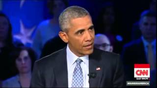 Full HD President Barack Obama Town Hall CNN Gun Control America Jan 7, 2016 1/7/2016