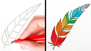 21 EASY DRAWING TRICKS FOR EVERYONE