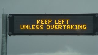 Driver Education Video 1 .   Keep Left Unless Overtaking NSW Australia