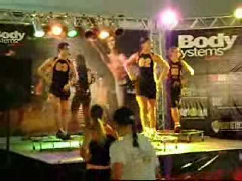 Aula de Power Jump Rio Sport Show 2007 parte 2