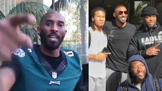 Kobe Bryant Recites Poem for Philadelphia Eagles