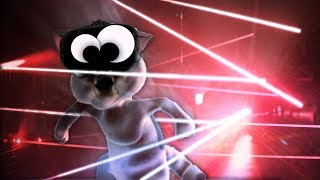 BECOMING A NINJA SPACE CAT IN VR!! - Kitty Nigiri VR (VR HTC VIVE Gameplay)